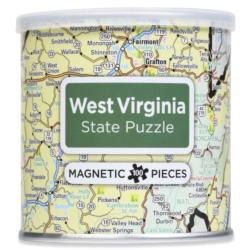City Magnetic Puzzle West Virginia Cities Magnetic Puzzle