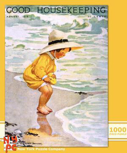 By the Sea - August 1918 (Good Housekeeping) Nostalgic / Retro Jigsaw Puzzle
