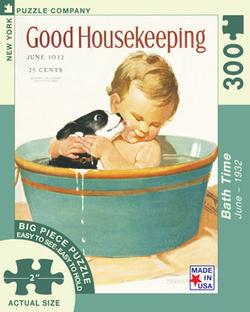 Bath Time (Good Housekeeping) People Large Piece