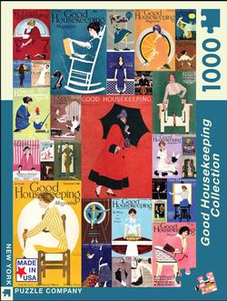 Good Housekeeping Collection - Coles Phillips (Good Housekeeping) Collage Jigsaw Puzzle