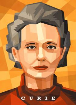 Scientist Jigsaw Puzzle Series: Marie Curie Science Jigsaw Puzzle