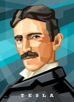 Scientist Jigsaw Puzzle Series: Nikola Tesla Science Jigsaw Puzzle