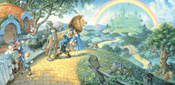The Wizard of Oz Wizard of Oz Panoramic