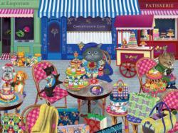 The Shopper (Gigi the Cat) Cartoons Large Piece