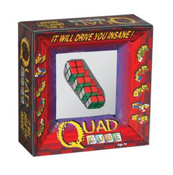 Quad Cube Strategy/Logic Games Brain Teaser