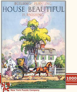 Country Home (House Beautiful) Summer Jigsaw Puzzle