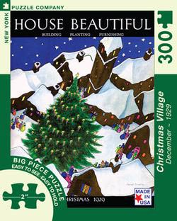 Christmas Village (House Beautiful) Christmas Large Piece