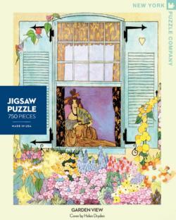 Garden View (House & Garden) Garden Jigsaw Puzzle