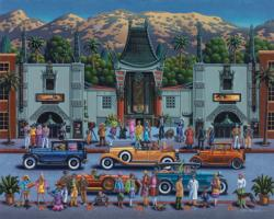 Hollywood United States Jigsaw Puzzle