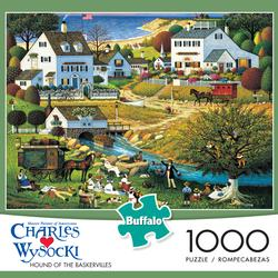 Hound of the Baskervilles Lakes / Rivers / Streams Jigsaw Puzzle