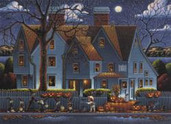 House of Seven Gables Halloween Jigsaw Puzzle