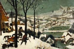 Hunters in the Snow by Pieter Bruegel The Elder Winter