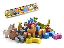 Animal Parade A-Z Puzzle Animals Wooden Jigsaw Puzzle