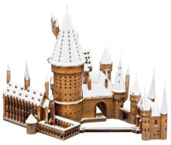 Hogwarts in Snow - Harry Potter Harry Potter Metal Puzzles