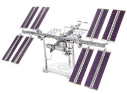 International Space Station Science Metal Puzzles
