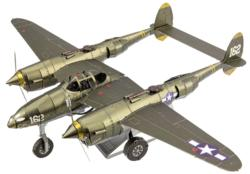 P-38 Lightning Military / Warfare Metal Puzzles