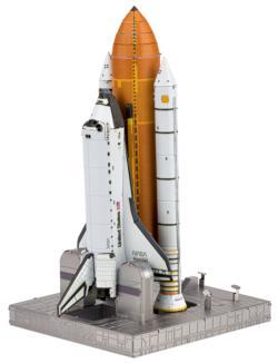 Space Shuttle Launch Kit Planes Metal Puzzles