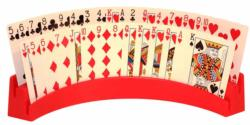 Twin Tier - Playing Card Holder in Red