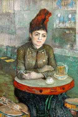 In the Cafe by Van Gogh People