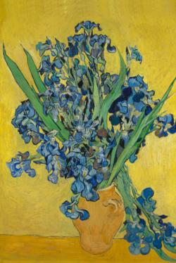 Irises by Van Gogh People