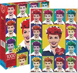I Love Lucy - Pop Art Collage Jigsaw Puzzle