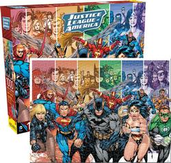 Justice League (DC Comics) Nostalgic / Retro Jigsaw Puzzle