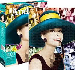 Audrey Collage Jigsaw Puzzle