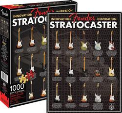 Fender - Stratocaster Evolution Collage Jigsaw Puzzle