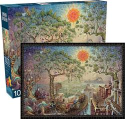 Sunshine Daydream Forest Jigsaw Puzzle