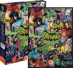 Batman TV Collage (DC Comics) Super-heroes Jigsaw Puzzle