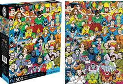 Retro Cast (DC Comics) Super-heroes Jigsaw Puzzle