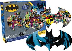Batman - Two Sided Puzzle Super-heroes Shaped Puzzle