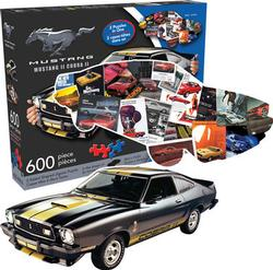 Ford Mustang and Collage Collage Double Sided