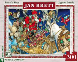 Jan Brett - Santa's Toys Christmas Children's Puzzles