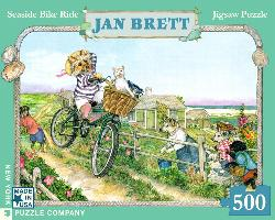 Comet's Bike Ride Dogs Jigsaw Puzzle