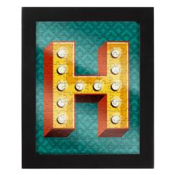 Jigsaw with a Frame - Letter H Alphabet/Numbers Frame Puzzle