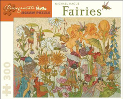 Fairies Flowers Jigsaw Puzzle