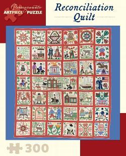 Reconciliation Quilt Folk Art Jigsaw Puzzle