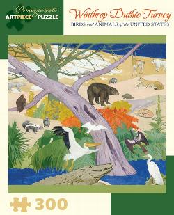 Birds And Animals Of The United States Family Fun Jigsaw Puzzle
