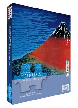 Hokusai - Mt. Fuji Asian Art Jigsaw Puzzle
