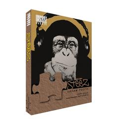 Steez - Headphone Monkey Graphics Jigsaw Puzzle