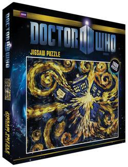 Doctor Who - Exploding Tardis - Scratch and Dent Sci-fi Jigsaw Puzzle