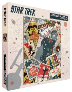 Star Trek Collage Sci-fi Jigsaw Puzzle