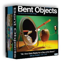 Mr. Kiwi Gets Ready (Bent Objects) Photography Jigsaw Puzzle