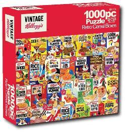 Retro Cereal Boxes (Kellogg's) Nostalgic / Retro Jigsaw Puzzle