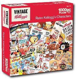 Retro Kellogg's Characters (Kellogg's) Nostalgic / Retro Jigsaw Puzzle