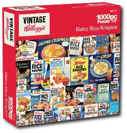 Vintage Snap, Crackle and Pop (Kellogg's) Nostalgic / Retro Jigsaw Puzzle