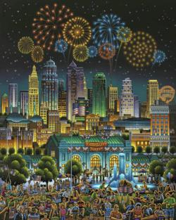 Kansas City Americana & Folk Art Jigsaw Puzzle