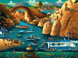 Lake Powell United States Jigsaw Puzzle