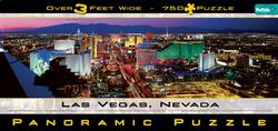 Panoramic - Las Vegas (750pc) Las Vegas Panoramic